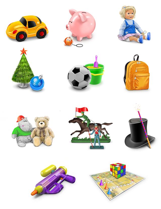иконки игрушки: